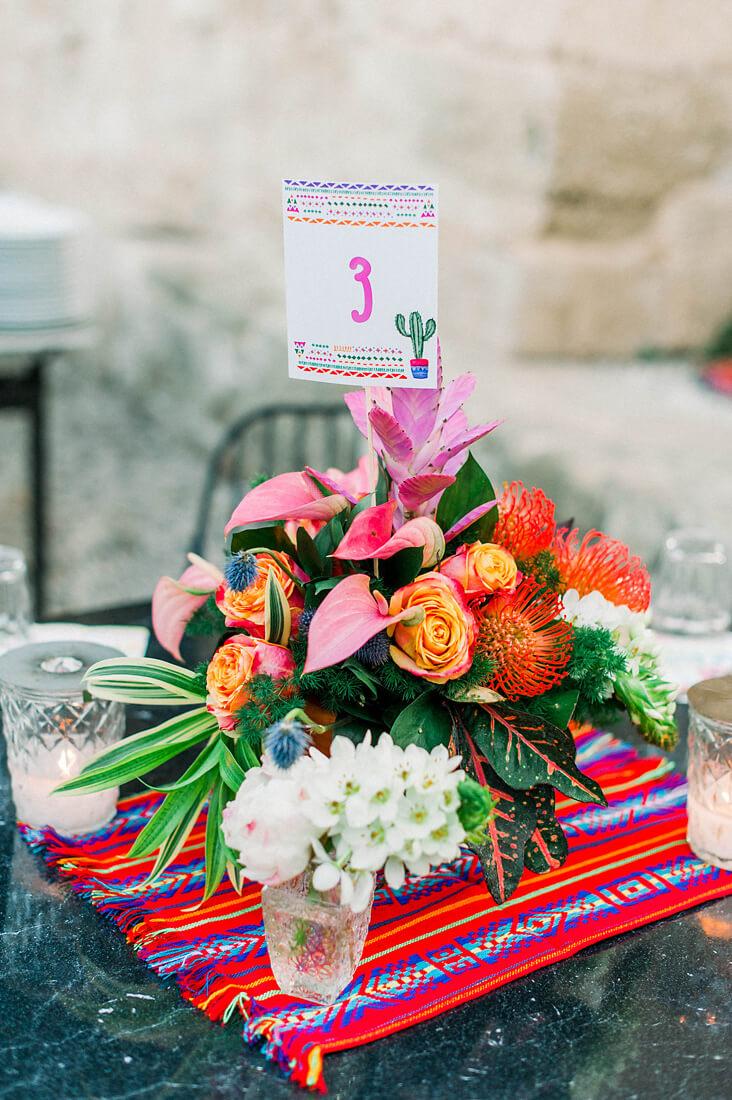 frida kahlo christening details by eventions Destination wedding in Greece - Wedding Planner in Rhodes
