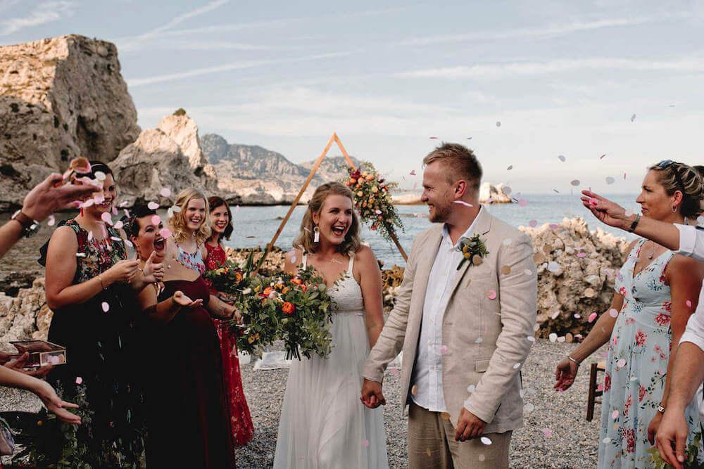 bohemian wedding in greece - Destination wedding in Greece - Wedding Planner in Rhodes - lindos weddings