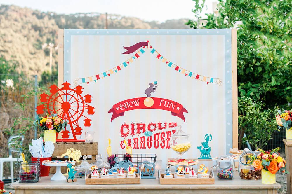 circus party ideas - Destination wedding in Greece - Wedding Planner in Rhodes - lindos weddings