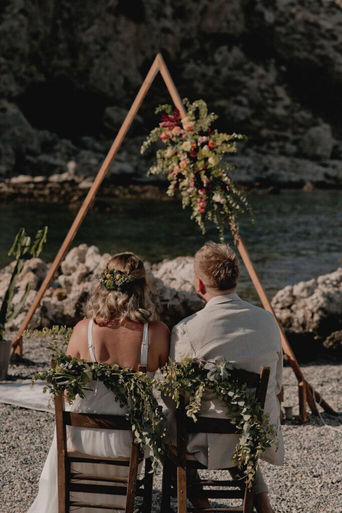 wedding planner in Rhodes - creative wedding arch ideas in Rhodes